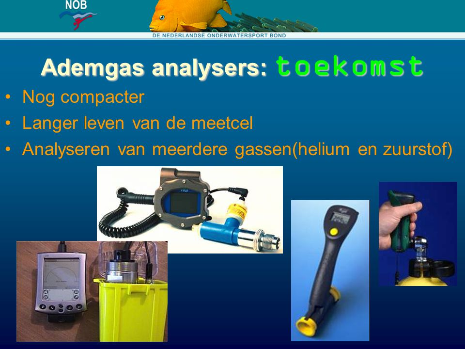 Ademgas analysers: toekomst