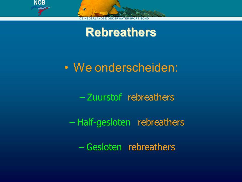 Half-gesloten rebreathers