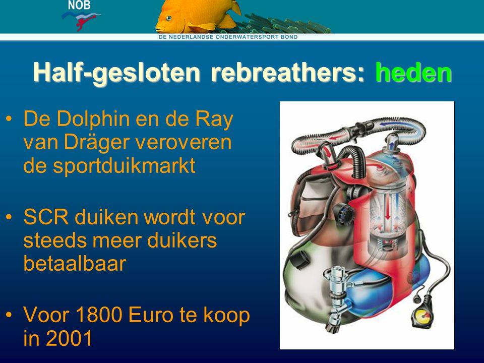Half-gesloten rebreathers: heden