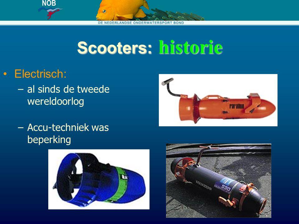 Scooters: historie Electrisch: al sinds de tweede wereldoorlog