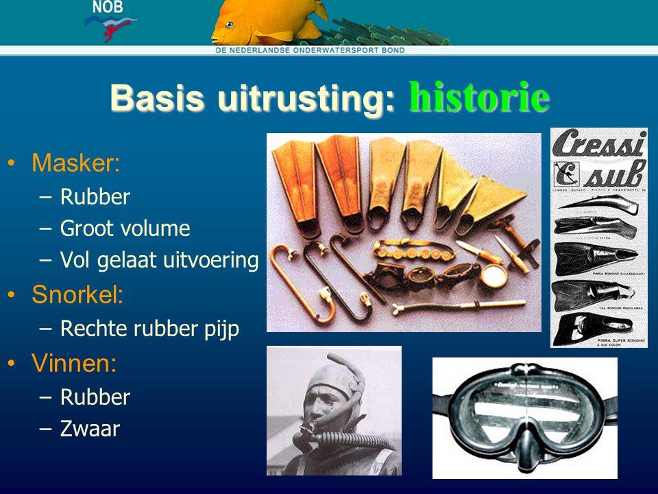 Basis uitrusting: historie