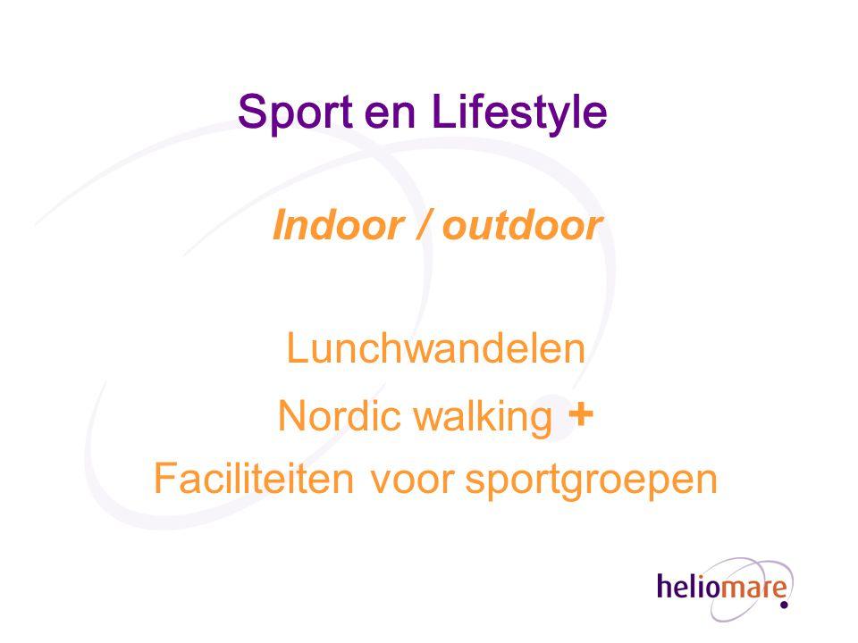 Faciliteiten voor sportgroepen