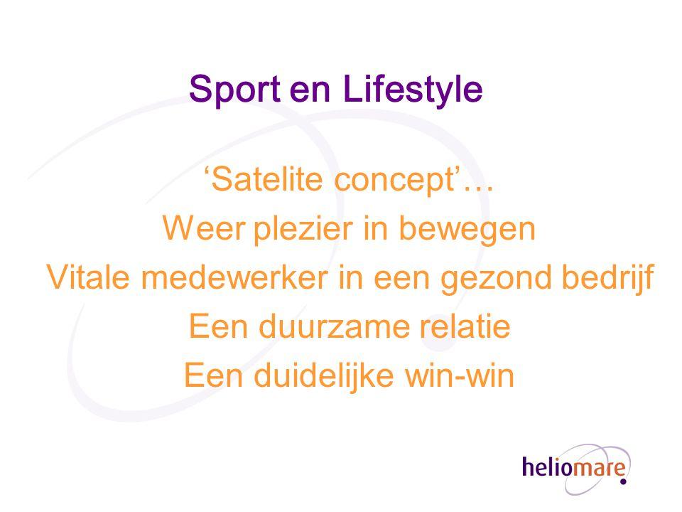 Sport en Lifestyle 'Satelite concept'… Weer plezier in bewegen