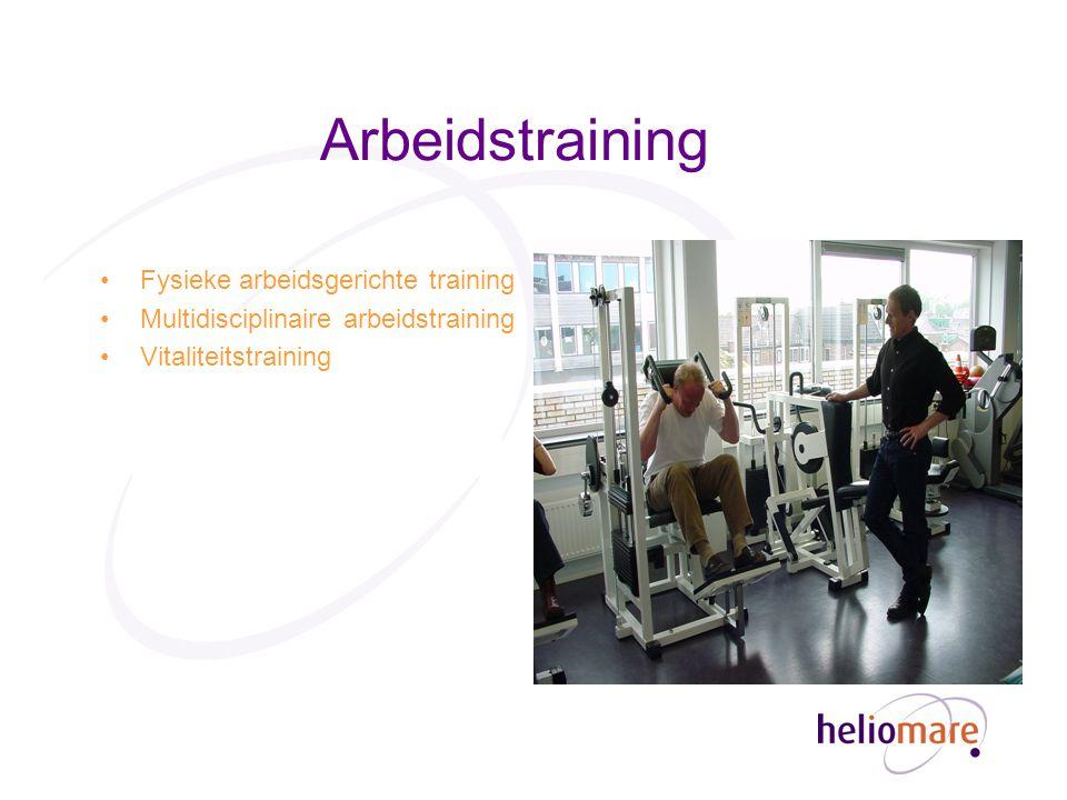 Arbeidstraining Fysieke arbeidsgerichte training