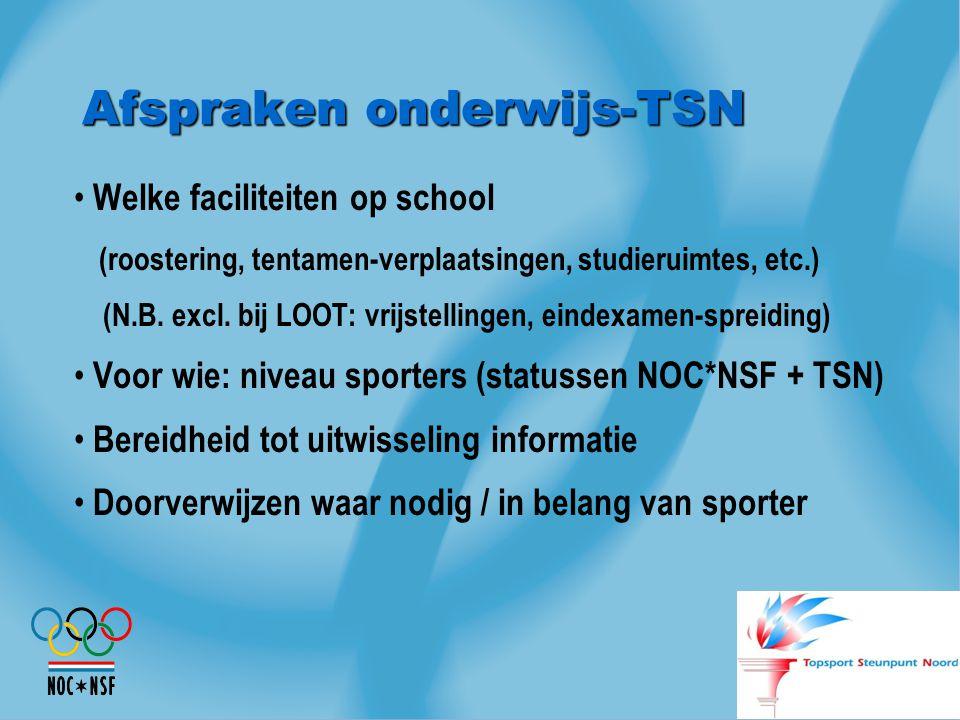 Afspraken onderwijs-TSN