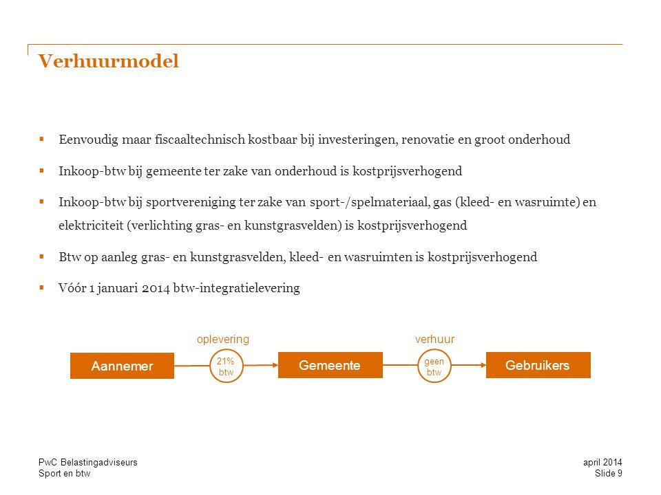 Verhuurmodel Eenvoudig maar fiscaaltechnisch kostbaar bij investeringen, renovatie en groot onderhoud.