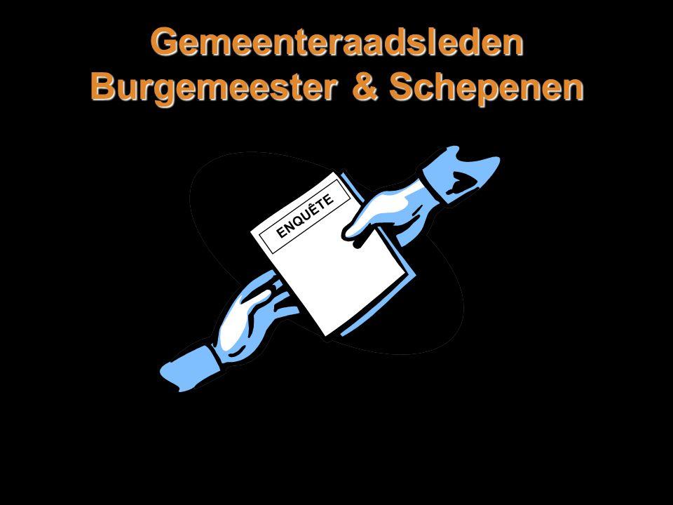 Gemeenteraadsleden Burgemeester & Schepenen