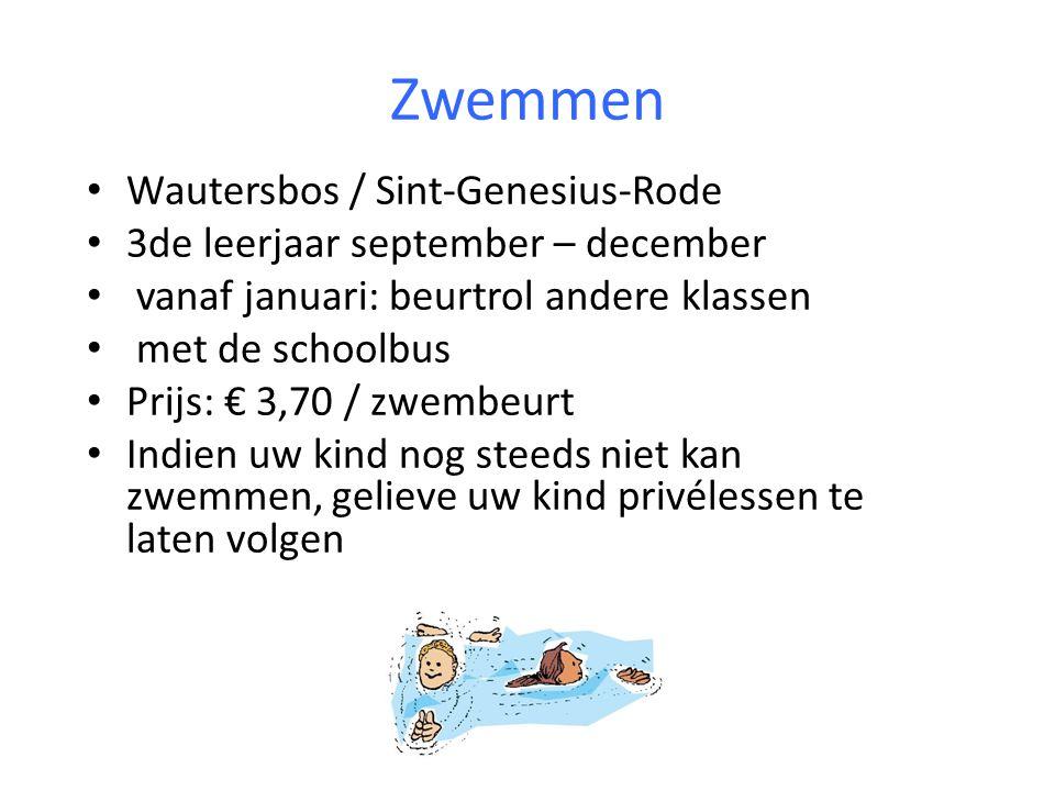 Zwemmen Wautersbos / Sint-Genesius-Rode