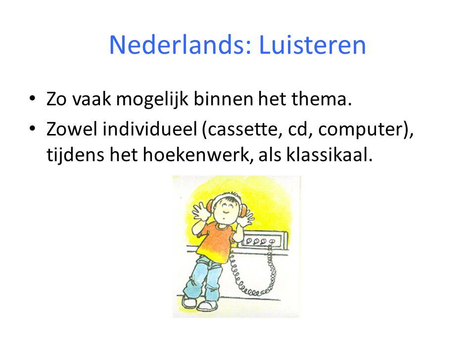 Nederlands: Luisteren