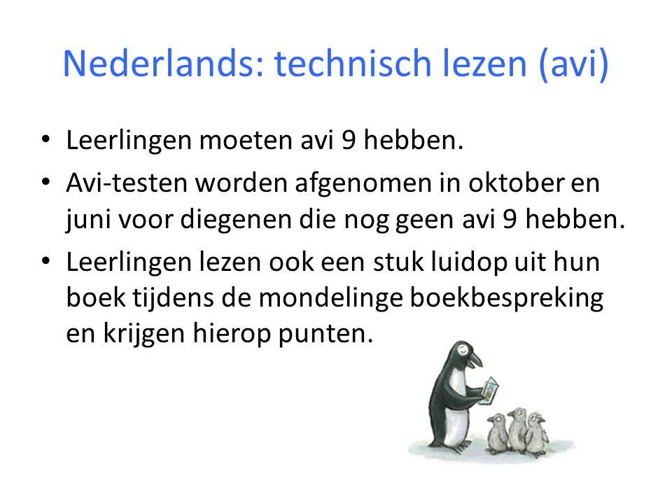 Nederlands: technisch lezen (avi)