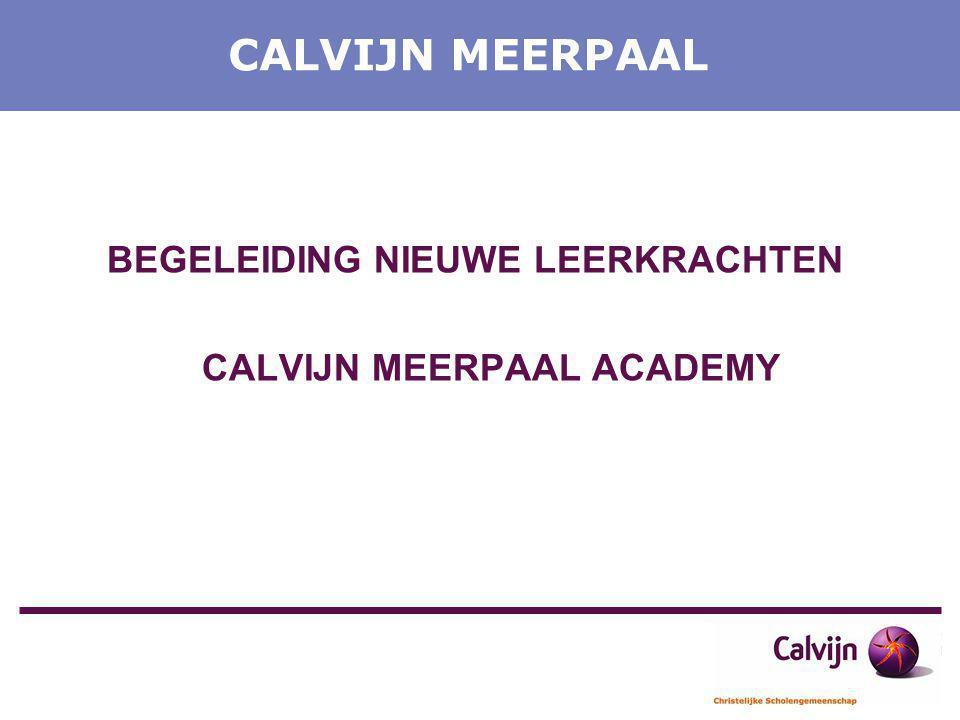 CALVIJN MEERPAAL ACADEMY