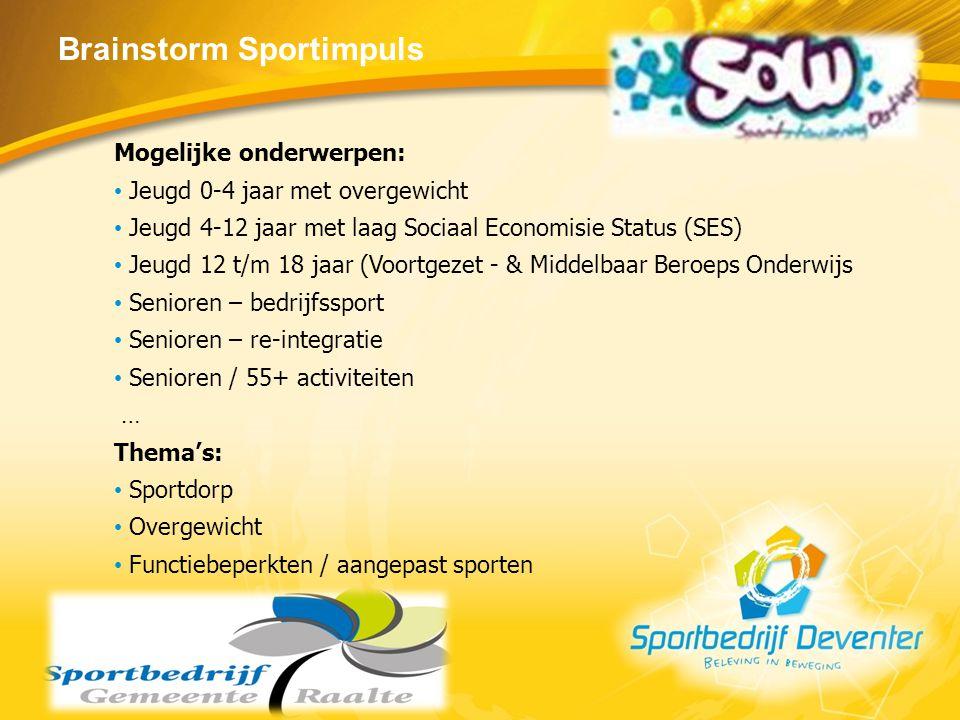 Brainstorm Sportimpuls