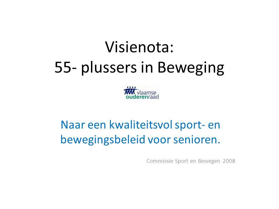 Visienota: 55- plussers in Beweging