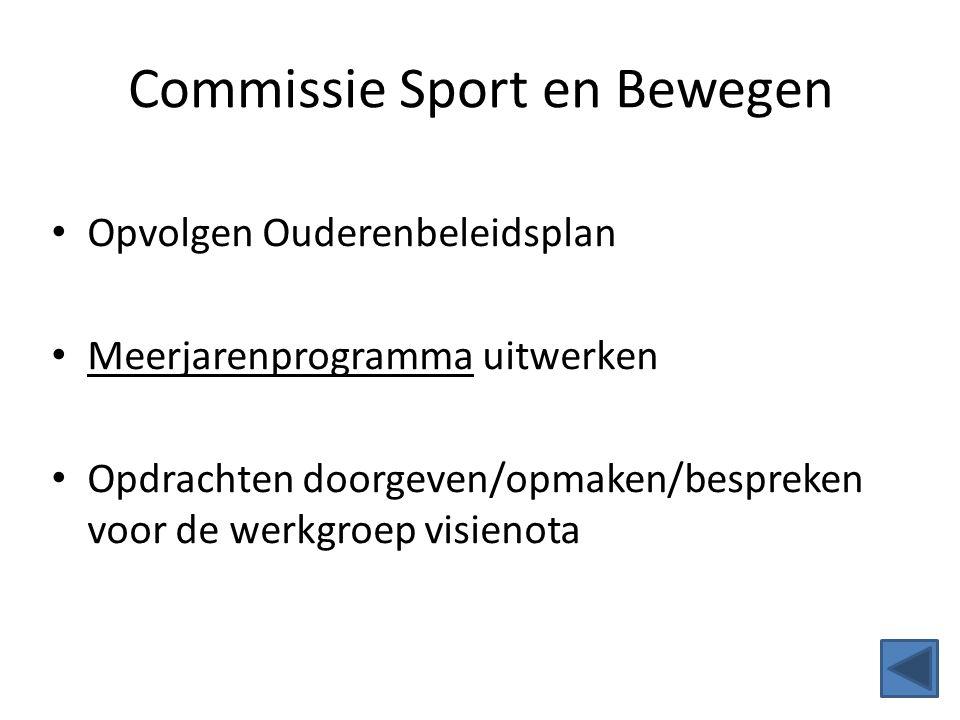 Commissie Sport en Bewegen