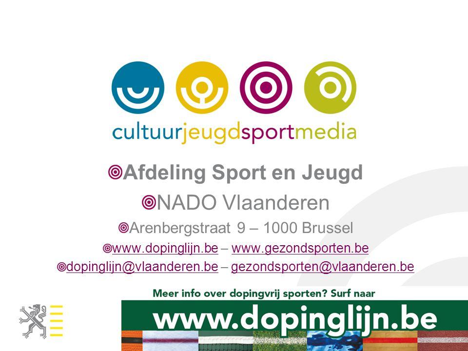 Afdeling Sport en Jeugd