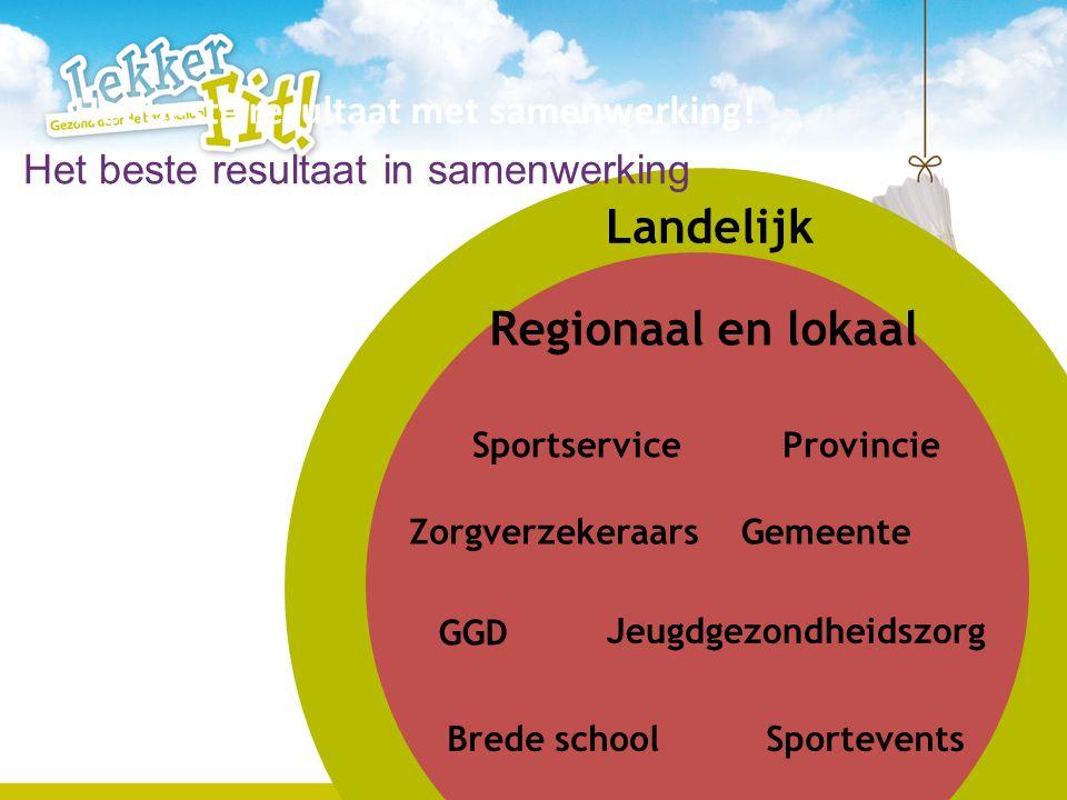 Landelijk Regionaal en lokaal