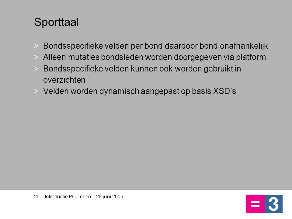 Aanschaf van PC Leden De adviesprijs bedraagt €109,=