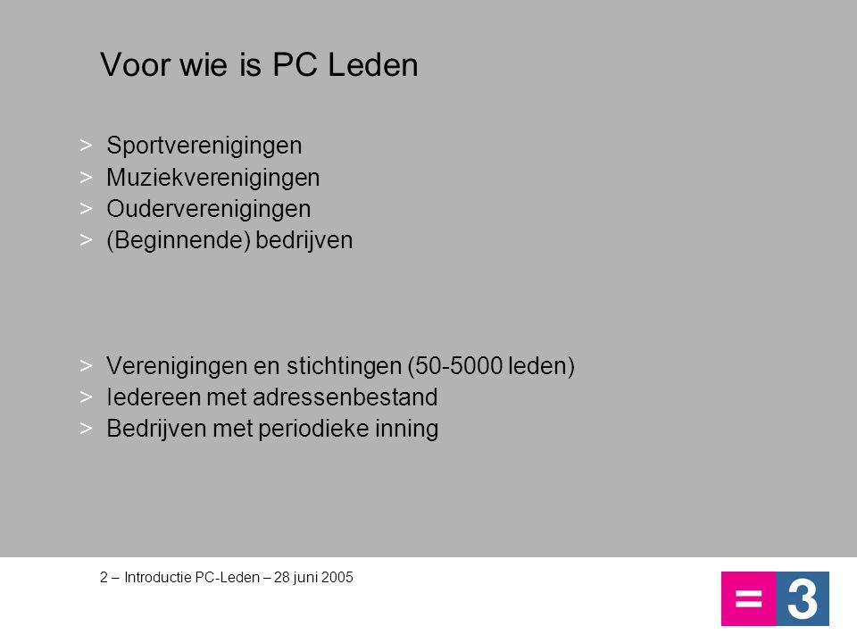 PC Leden kent: Complete ledenadministratie