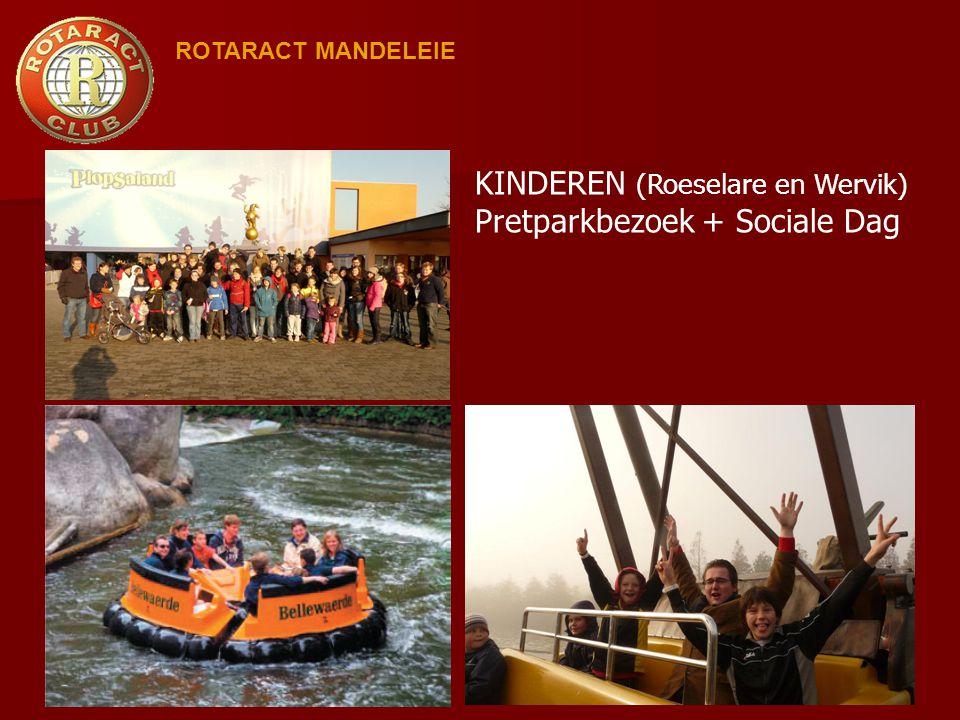 KINDEREN (Roeselare en Wervik) Pretparkbezoek + Sociale Dag