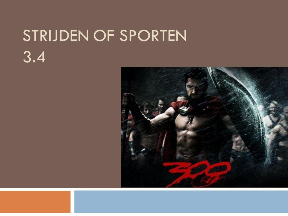 Strijden of sporten 3.4