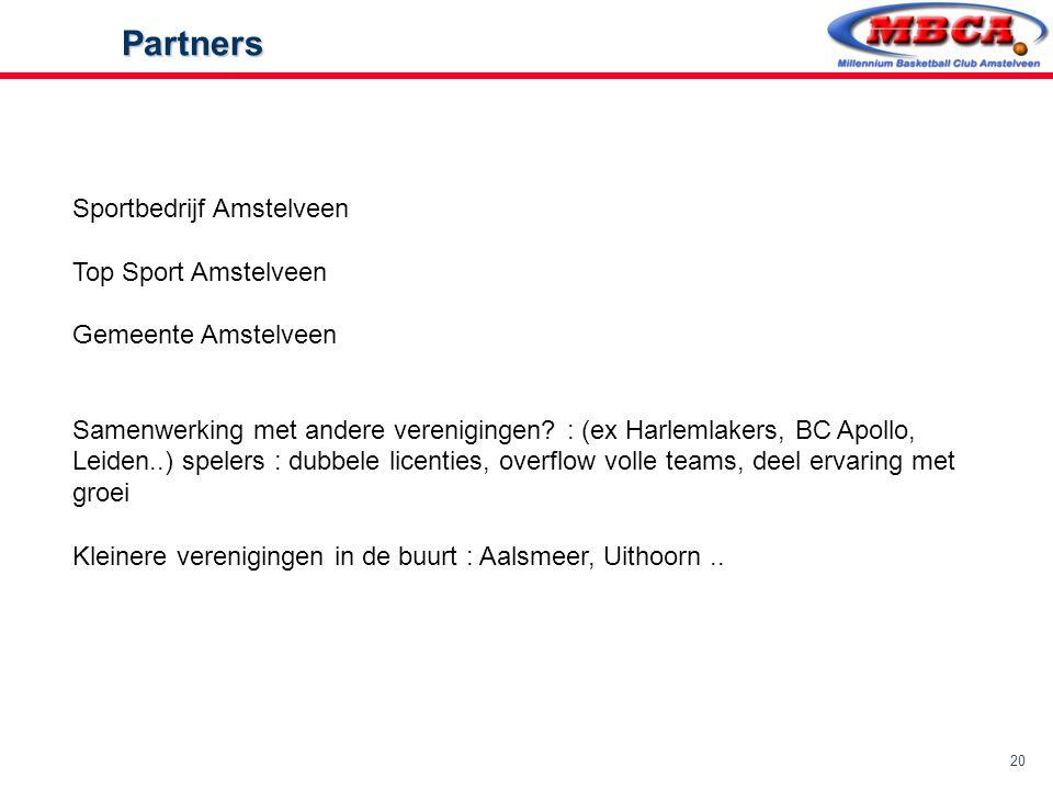 Partners Sportbedrijf Amstelveen Top Sport Amstelveen