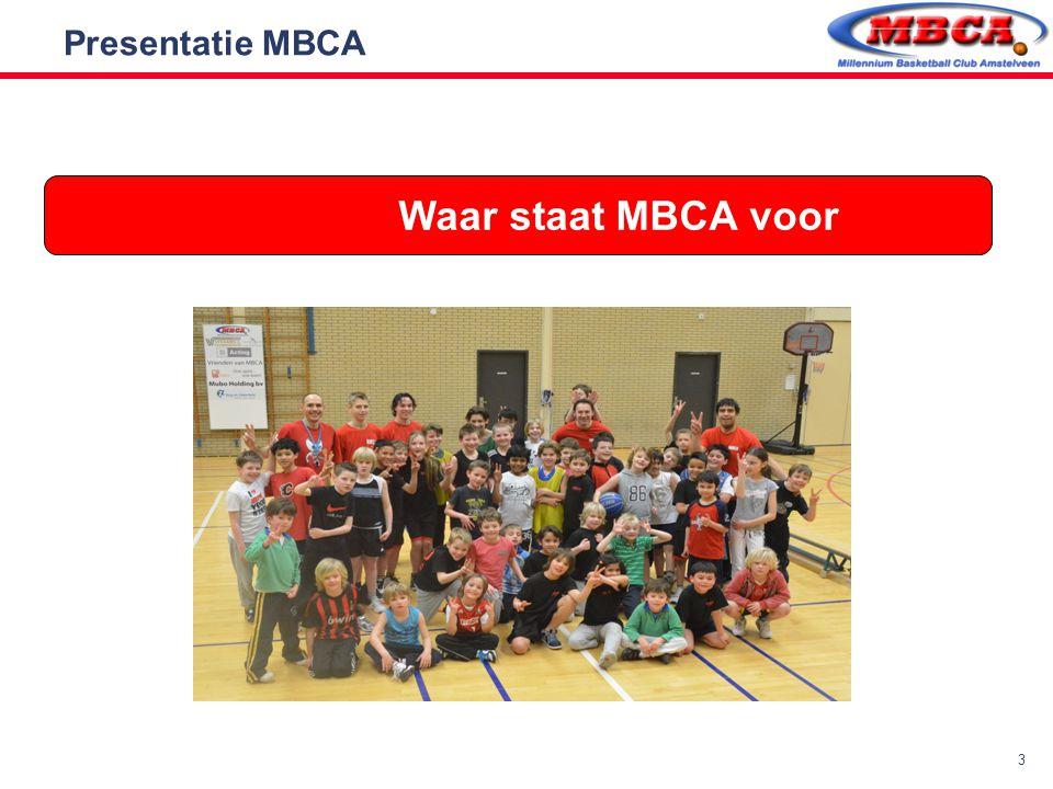 Presentatie MBCA Waar staat MBCA voor