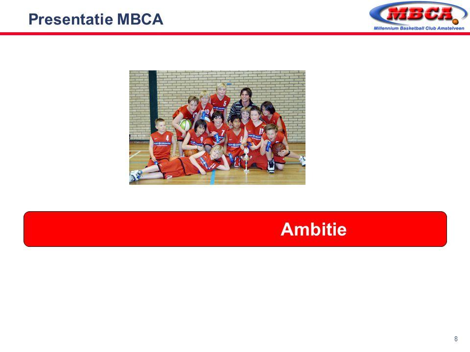 Presentatie MBCA Ambitie