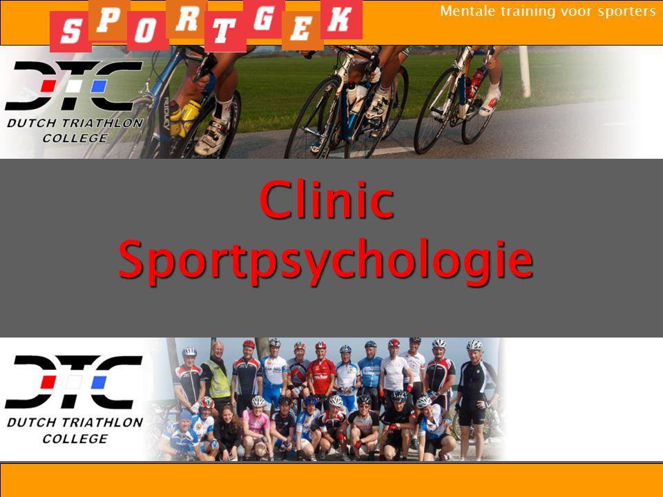 Clinic Sportpsychologie