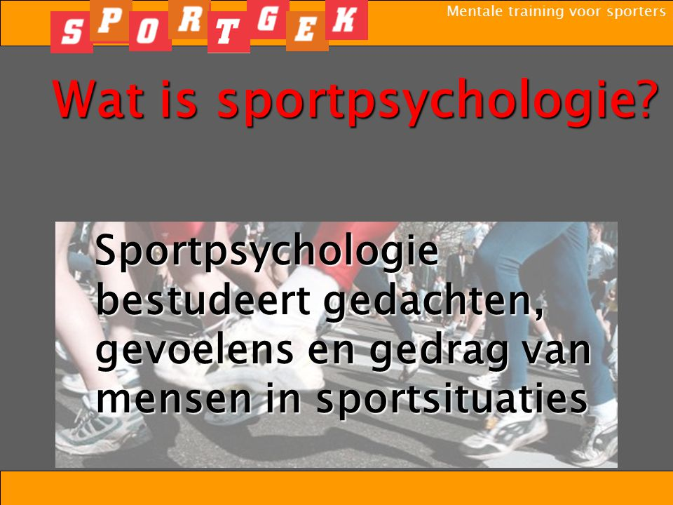 Wat is sportpsychologie