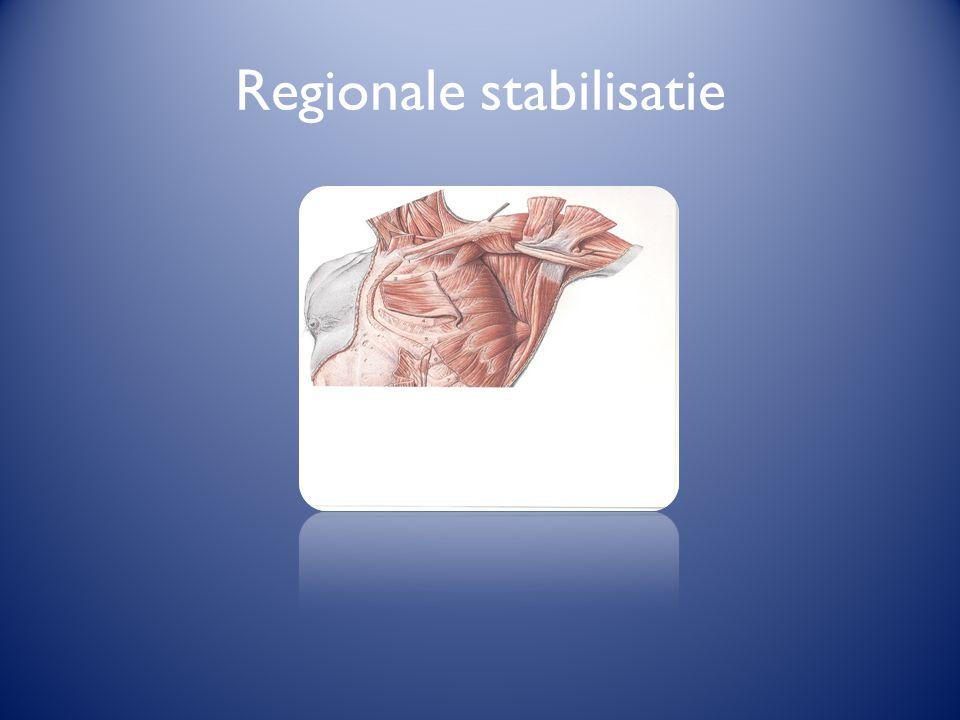 Regionale stabilisatie