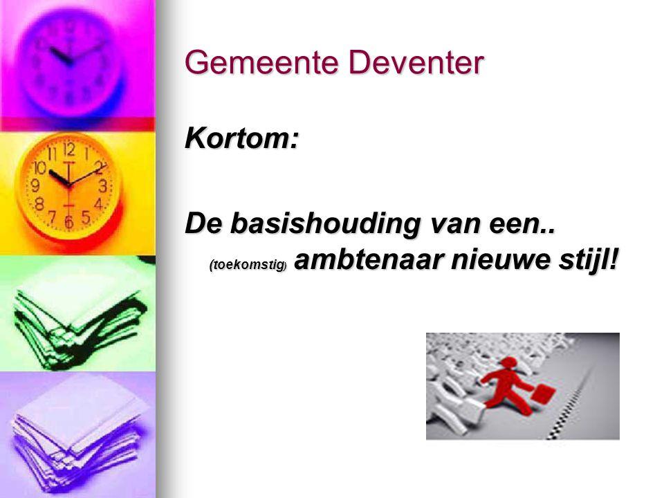 Gemeente Deventer Kortom: