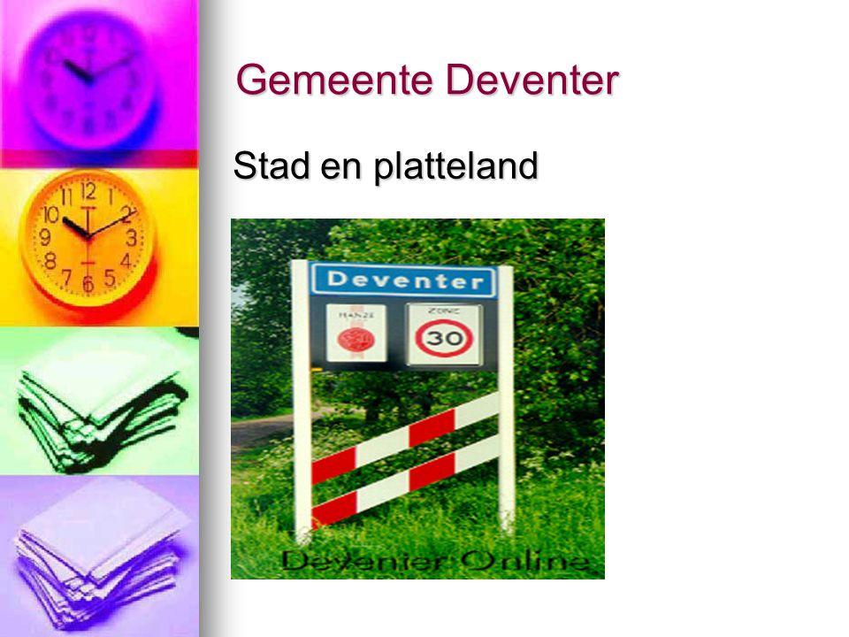 Gemeente Deventer Stad en platteland