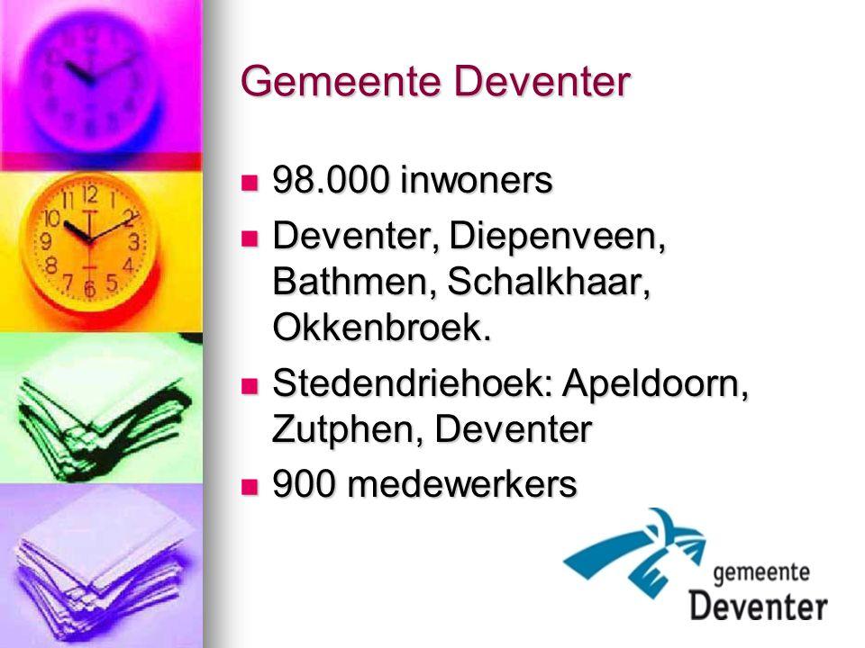 Gemeente Deventer 98.000 inwoners