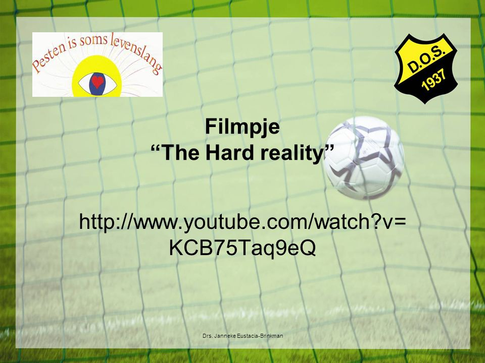 Filmpje The Hard reality