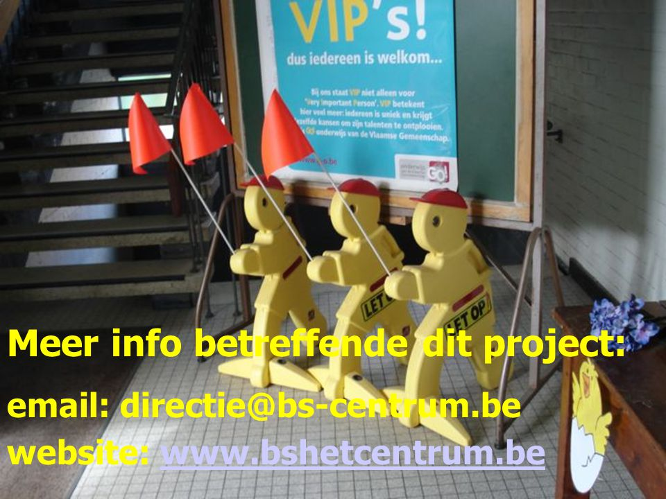 Meer info betreffende dit project: