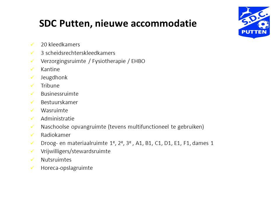 SDC Putten, nieuwe accommodatie