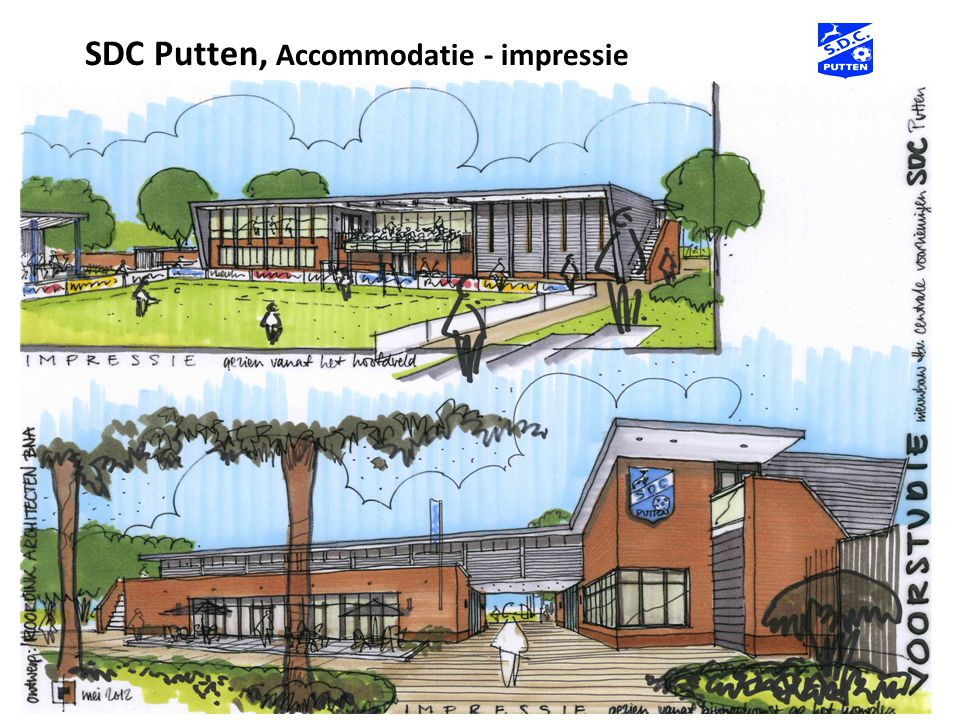 SDC Putten, Accommodatie - impressie