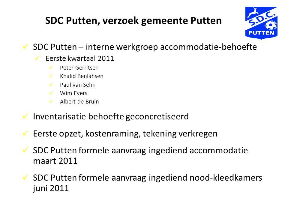 SDC Putten, verzoek gemeente Putten