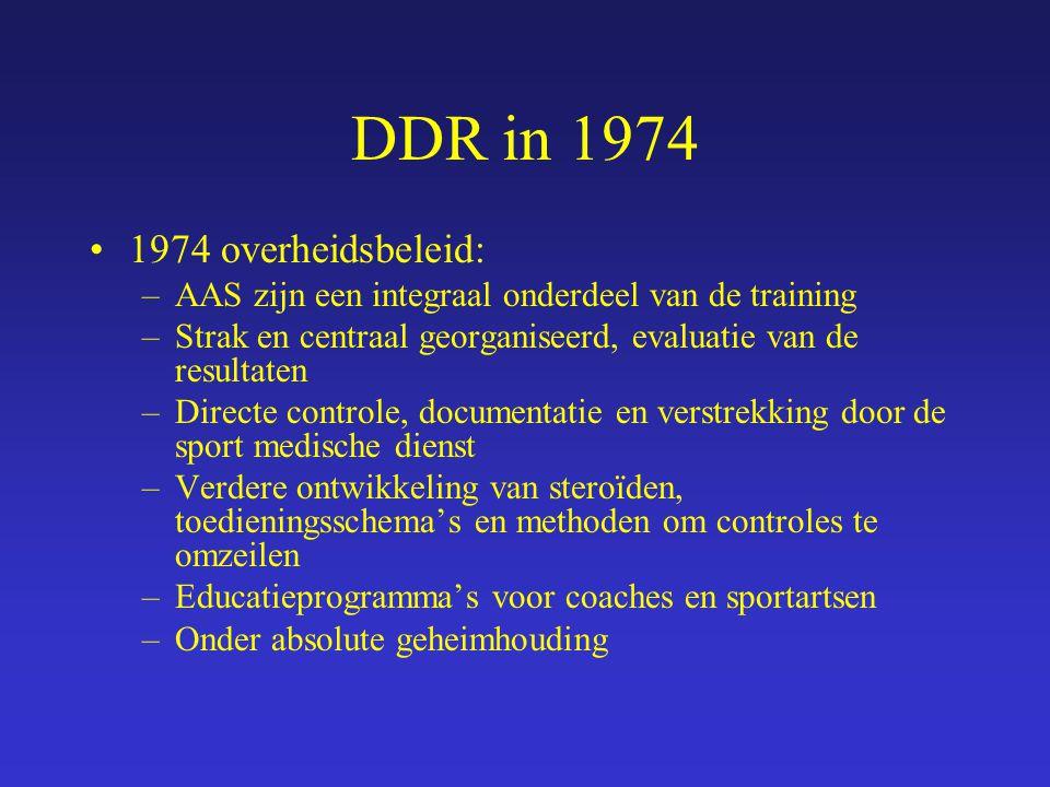 DDR in 1974 1974 overheidsbeleid: