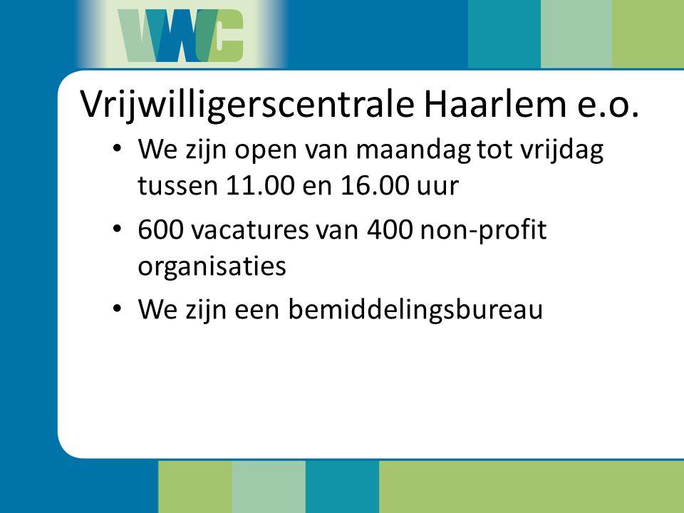 Vrijwilligerscentrale Haarlem e.o.