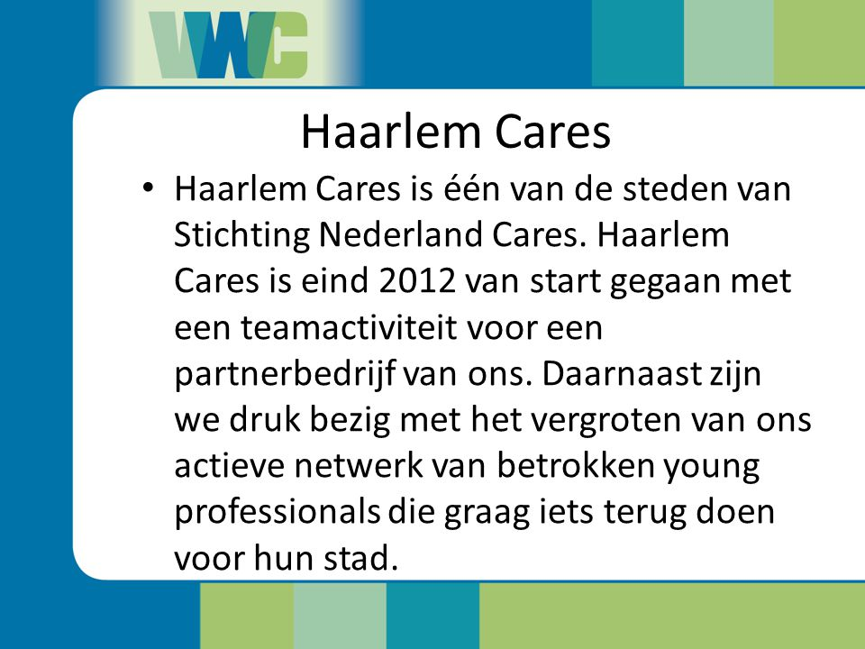 Haarlem Cares