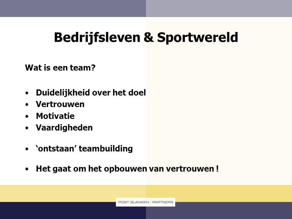 Bedrijfsleven & Sportwereld