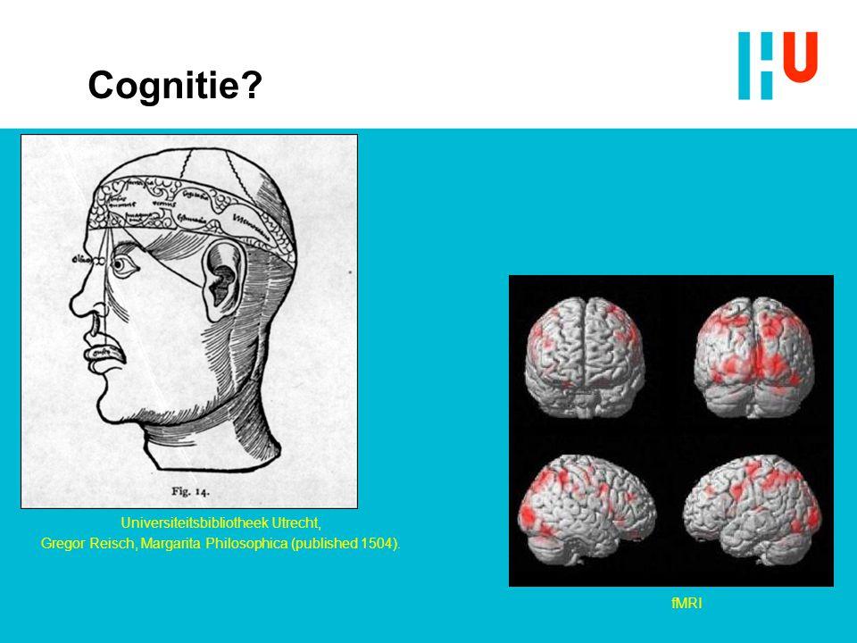 Cognitie Universiteitsbibliotheek Utrecht,