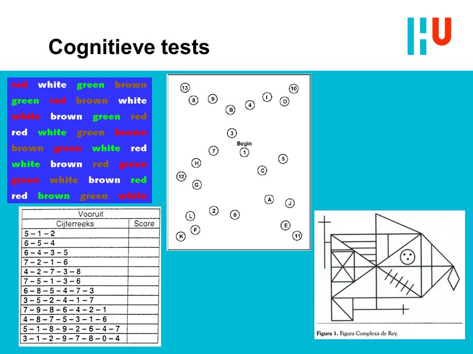 Cognitieve tests