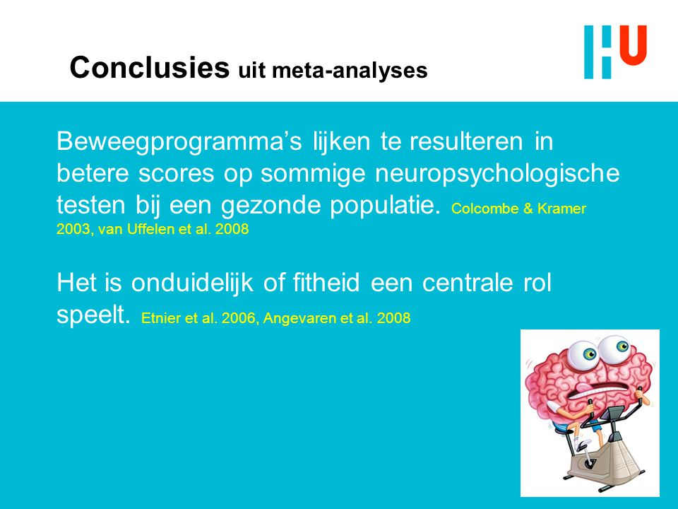 Conclusies uit meta-analyses