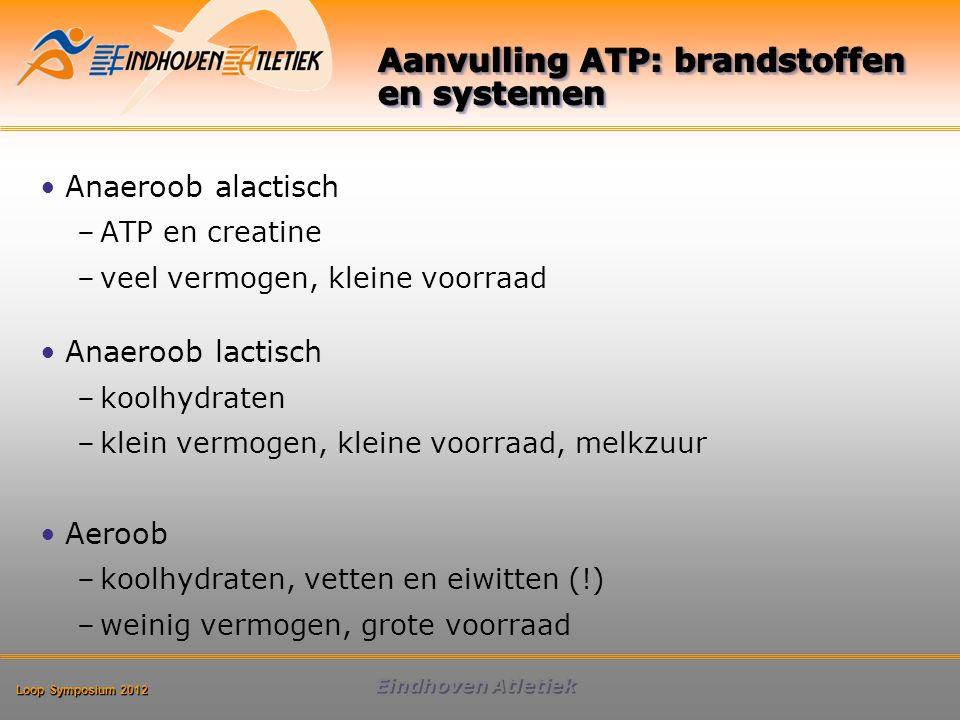 Aanvulling ATP: brandstoffen en systemen