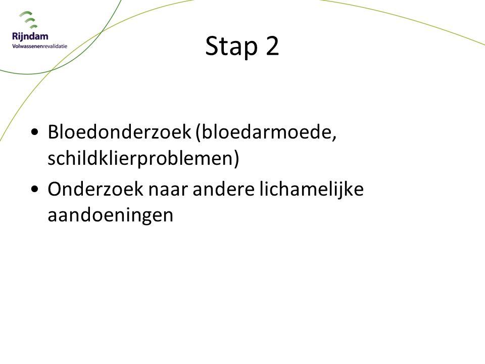 Stap 2 Bloedonderzoek (bloedarmoede, schildklierproblemen)