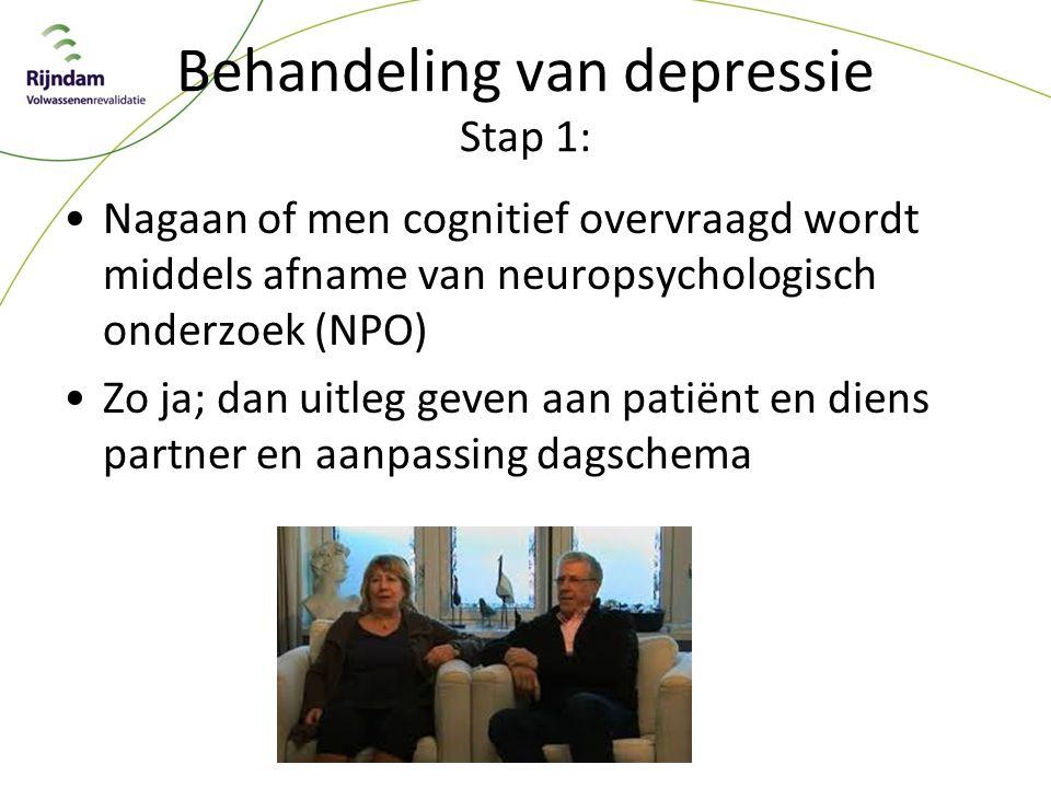 Behandeling van depressie Stap 1: