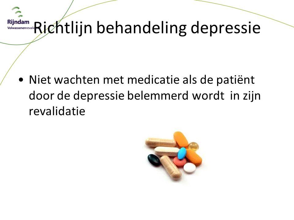 Richtlijn behandeling depressie