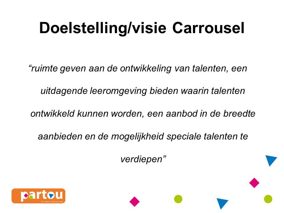 Doelstelling/visie Carrousel